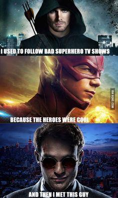 The game has changed. Matt Murdock, better than DC flawed superheroes