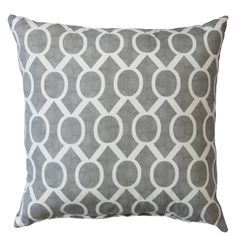 Sydney Cotton Throw Pillow
