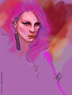 Radiant Orchid Art Print by BENDA-BenLiu Orchid Color, Art Clipart, Paint Shop, Color Of The Year, Textile Patterns, Pantone Color, Red Purple, Pattern Wallpaper, Color Blocking