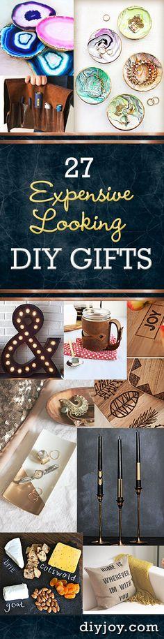 27 Expensive Looking Inexpensive DIY Gifts - DIY Joy