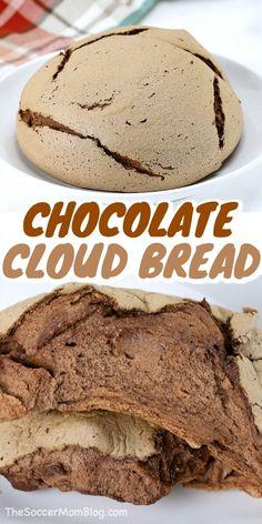 Healthy Baking, Healthy Desserts, Just Desserts, Delicious Desserts, Dessert Recipes, Yummy Food, Dessert Bread, Chocolate Bread Recipe, Chocolate Recipes