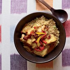Cat Cora's Moroccan-spiced stew is a great showcase for farmed catfish or tilapia.