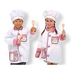 Costum de bucătar șef pentru copii