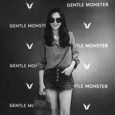 GENTLE MONSTER Opening ceremony with Korea actress Ha Ni, Lee (이하늬)