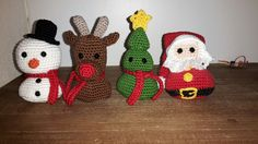 #dendennis christmasbusts. Free pattern.