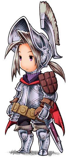 Final Fantasy Tactics KNIGHT!! So cutee!!
