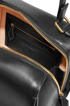 Victoria Beckham - Full Moon Small Leather Tote - Black - one size