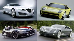 If there's one thing you can be certain of seeing at a motor show, it's an array of wild and outland... - Saab | Lamborghini | Peugeot | Cadillac