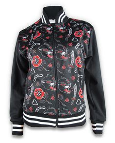 Liquor Brand Damen PANTHER ROSE Jacke/Jacket.Oldschool,Tattoo,Pinup,Custom Style