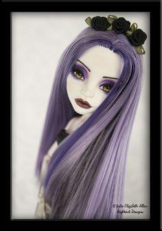 ~Ophelia~ OOAK Custom Monster High Spectra Repaint - IvyHeart Designs