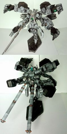 GUNDAM GUY: 1/144 Gundam Nadleeh - Custom Build