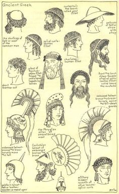 ancient greek hair - Google Search
