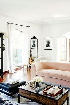 Anine Bing Home Tour — Living Room