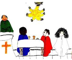 LISTENING TO THE CHILD This blog gathers together children's artwork and conversations in response to the Catechesis of the Good Shepherd