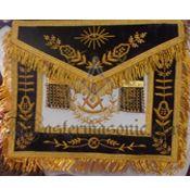 Masonic Grand Lodge PM Officer Apron Freemason Symbol, Grand Lodge, Freemasonry, Aprons, Decorative Boxes, Symbols, Apron Designs, Apron, Decorative Storage Boxes