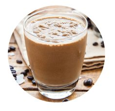 Dirty Chai Smoothie - 1/2 cup cooled coffee, 1/2 cup unsweetened almond milk, 1/2 cup ice, 1 serving of Vega One Vanilla Chai, optional 1/2 tsp cinnamon - combine and blend!