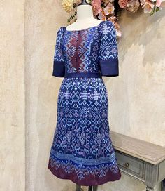 Latest African Fashion Dresses, African Print Fashion, Batik Dress, Silk Dress, Batik Fashion, Thai Dress, Thai Style, Blouses, Gowns