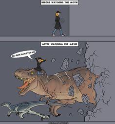 Jurassic World the Experience by Carolzilla on DeviantArt Jurassic Park Series, Jurassic Park World, Jurrassic Park, Jurassic World Fallen Kingdom, Dinosaur Art, Dinosaur Drawing, Falling Kingdoms, Prehistoric Creatures, Tyrannosaurus Rex