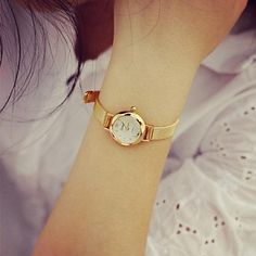 moda liga circular relógio de quartzo das mulheres – EUR € 11.51