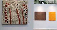 Ningura Napurrula, #Papunya #artaborigene #aboriginalart #australianart #artparisartfair2015