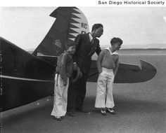 Buster and his sons abhorted plane trip to Mexico