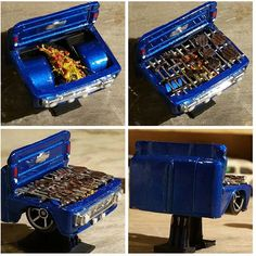 Your Custom Hot Wheels 4 Lowrider Model Cars, Custom Hot Wheels, Plastic Model Cars, Garden Crafts, Bbq Grill, Outdoor Projects, Scale Models, Diecast, Minis