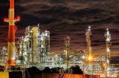 工場夜景 Factory