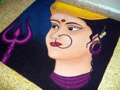 Dussehra Rangoli Designs