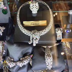How do you like to wear your #Cartier Panthere jewelry? Whether it's a necklace, ring, bracelet or watch, we have the perfect piece for you. Every piece is signed and authenticated, you can always trust #Yafa with your #SignedJewelry purchases. ⚜️❤️⚜️ #vintage #vintagesignedjewels #signedjewelry #yafasignedjewels #yafa #authentic #cartierpanthere #panthere #diamond #sapphire #thebest #luxury #style #beautiful