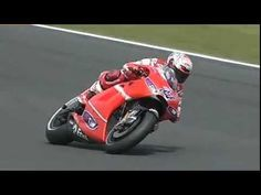 Casey Stoner Drifting at Phillip Island