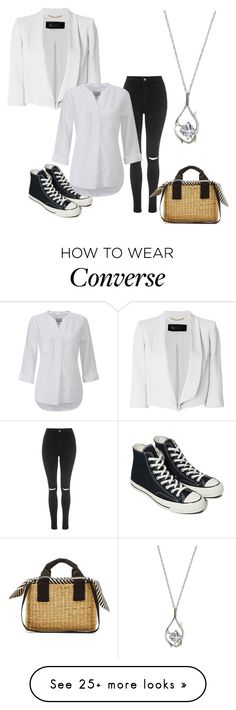 """""""The final straw"""" by annathefashionista02 on Polyvore featuring Converse, Topshop, Muuñ, MaxMara, Pure Collection and basketbags"""