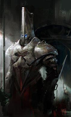 Robot Guard by nachoyague.deviantart.com on @deviantART
