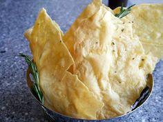 Sardinian Flat Bread ~ Pane Carasau