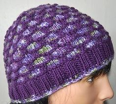 Moonshine - Merino 5 Bejeweled Hat - Crystal Palace Yarns - free knit hat pattern