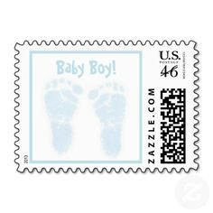 Baby Boy Footprint Baby Feet Stamps