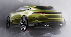 a collection of random carsketches from 2012-2015