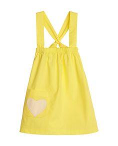 Lemon Sherbert Cross My Heart Dress