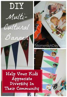 DIY Multicultural Banner