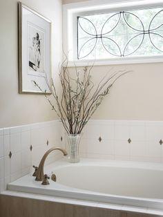 Master bathroom. White bathroom. Valerie Garrett Interior Design. Macon, GA.
