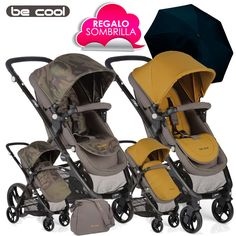 Silla de Paseo SLIDE de Be Cool CAMOUFLAGE Camouflage vs Oil 2016