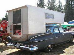 Is this molded fiberglass? Slide In Camper, Popup Camper, Truck Camper, Camper Van, Micro Campers, Old Campers, Happy Campers, Vintage Rv, Vintage Campers