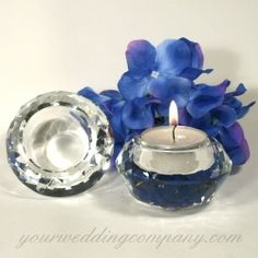Candle Bling (ignore accent fake blue petals)