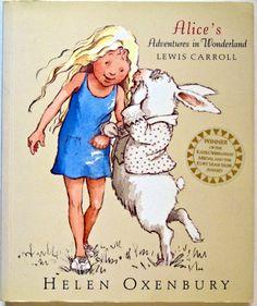 Alice's Adventures in Wonderland - Lewis Caroll. Illustrations - Helen Oxenbury