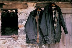I've been reading about Barbour on http://www.brilliantbritainguide.com/barbour/ from Brilliant Britain