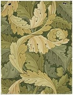 Wallpaper designed by William Morris
