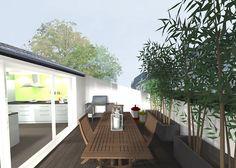 Loft Conversion - Roof Balcony Terrace - Nancy