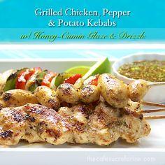 Grilled Chicken, Potato