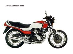 Honda cbx550f   1982