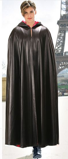Black Rubber Cape