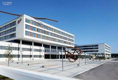 Big Ideas: Health and Wellness   Firm: HDR TMK. Project: Schwarzwald-Baar Klinikum. Location: Villingen-Schwenningen, Germany. #interiordesign #design #interiordesignmagazine #projects #health #wellness